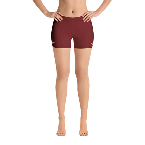 VonSavage Burgundy Shorts