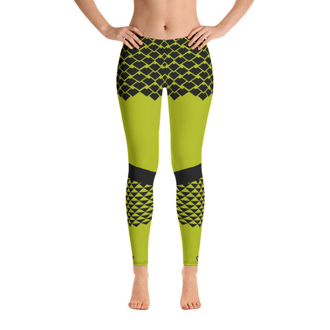 Polynesian NT Green Leggings
