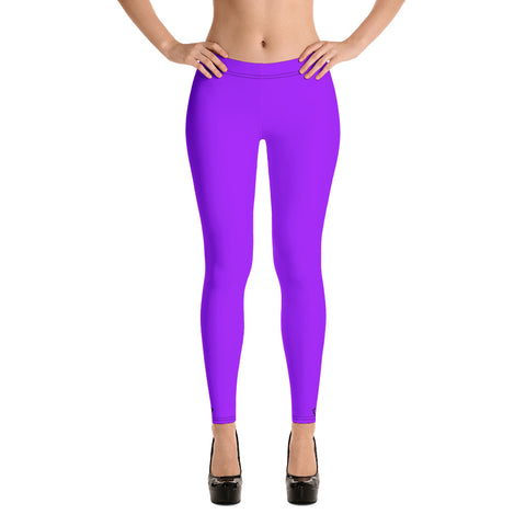 VonSavage Purple Full Length Leggings
