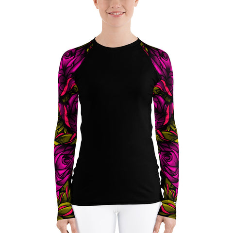 Jeremy Harburn Women's Rash Guard