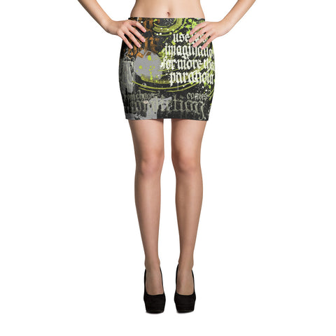 BlackLetterRitual Paranoia Women's Mini Skirt