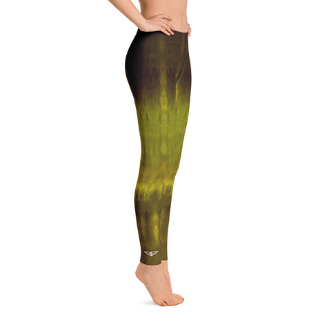 Von Savage Ombre Chartreuse Leggings
