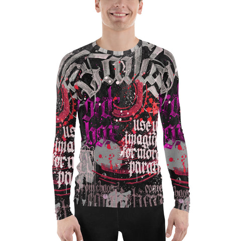 BlackLetterRitual Paranoia Men's Rash Guard