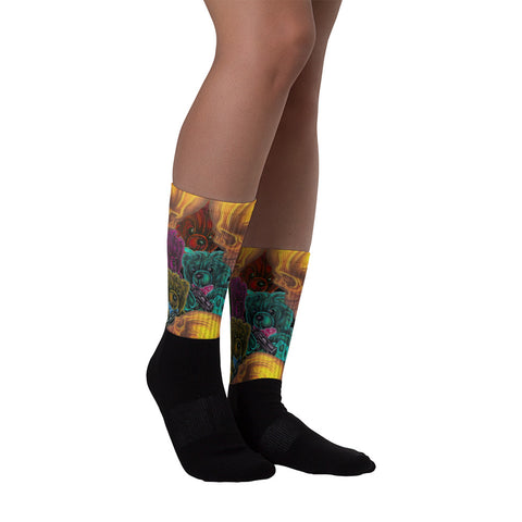 Todd Boling Twisted Bear Socks