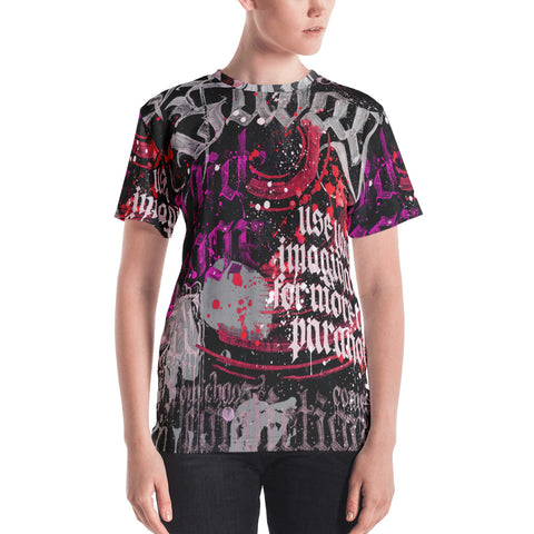 BlackLetterRitual Paranoia Women's Crew Neck T-shirt