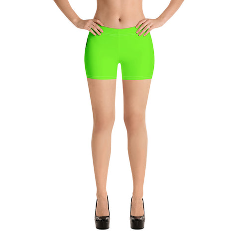 Von Savage Logo Lime Green Shorts