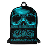 G2GBay SKULL FACE Cyan Backpack