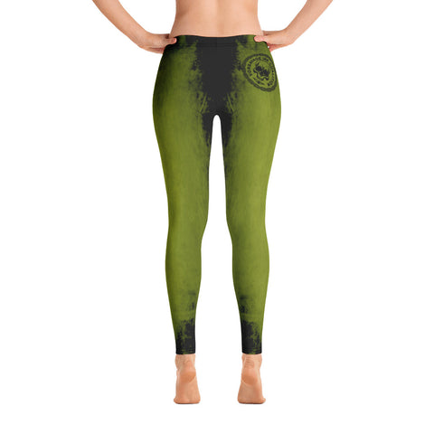 Destroy Green/Black Insignia Leggings