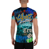 "BlackLetterRitual ""Redemption"" Men's Athletic T-shirt"