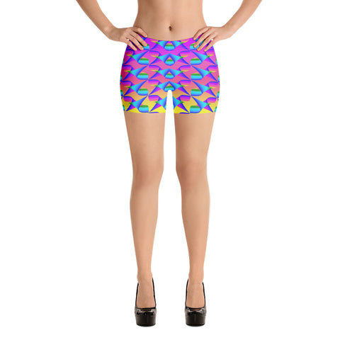 Magic Rainbow Color 2 Shorts