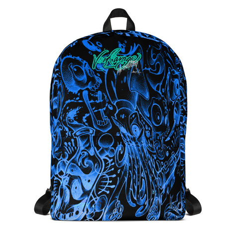 Jeremy Harburn Flash Sheet Blue Backpack