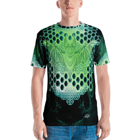 Adam O'Brien Green Bat Men's T-shirt