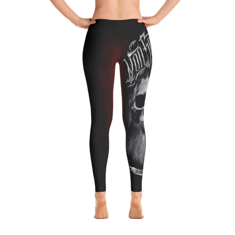 Daniel Japaniel Bearded Skull Leggings