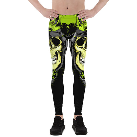 G2GBay Zombie Green Samurai Men's Leggings