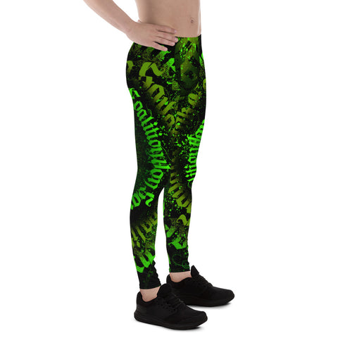 BLR Calligrafitti Toxic Men's Leggings