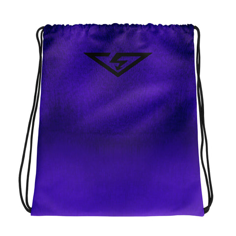 Purple Ombre Drawstring bag