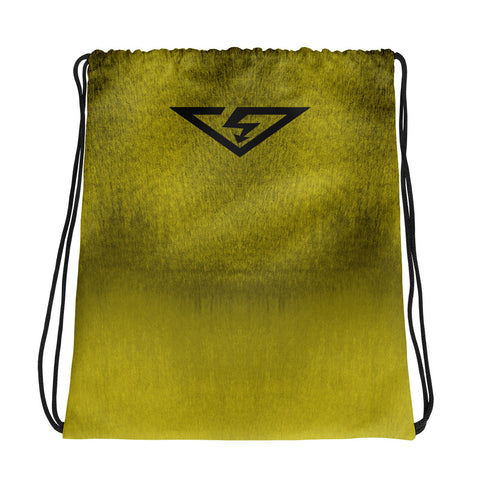 Chartreuse Ombre Drawstring bag
