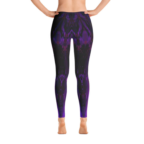 Dapper Purple Leggings