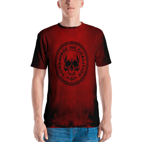 Destroy Red/Black Insignia Men's T-shirt