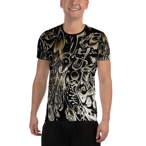 Jeremey Harburn Flash Set Men's Athletic T-shirt