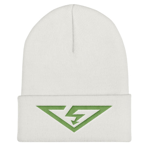 VS Logo Kiwi Green Cuffed Beanie