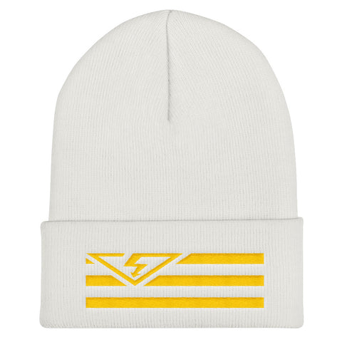 VS FLAG Gold Threads Cuffed Beanie