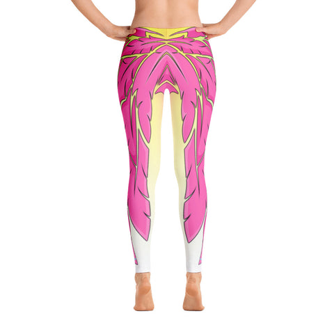Beachy Flamingo Leggings