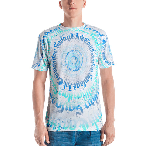 BlackLetterRitual Calligrafitti Men's Frost T-shirt