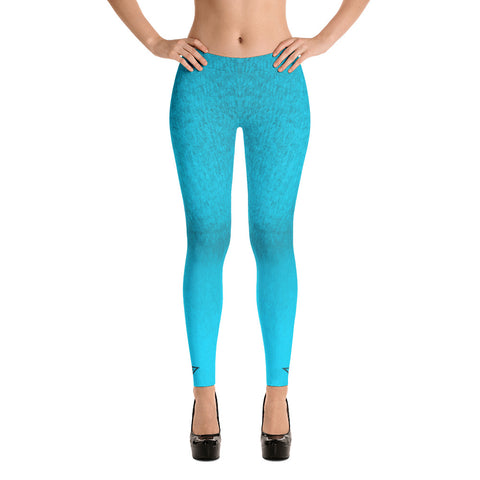 Von Savage Ombre Ice Blue Leggings