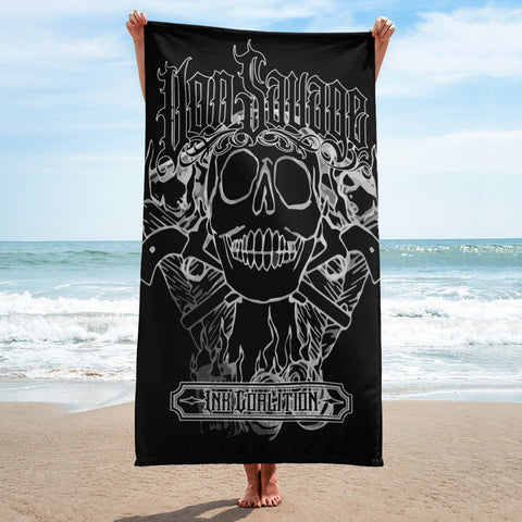Levon Miller Money To Burn Beach Towel