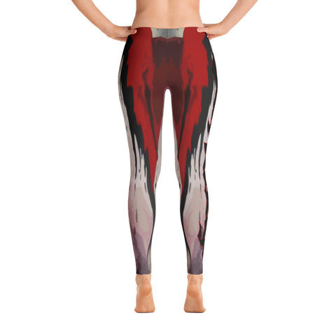 Von Savage Bleeding Heart Leggings