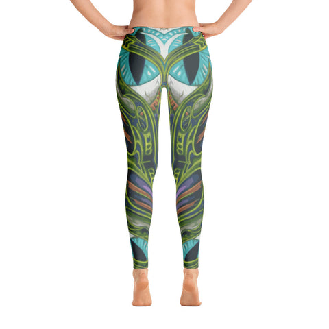 Todd Boling Bio-mech EYE Leggings