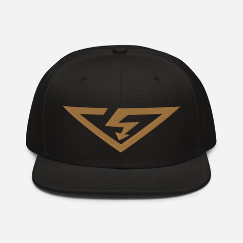 VonSavage Old Gold Threads Snapback Hat