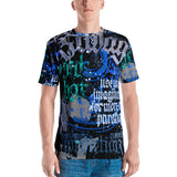BlackLetterRitual Paranoia Men's Crew Neck T-shirt