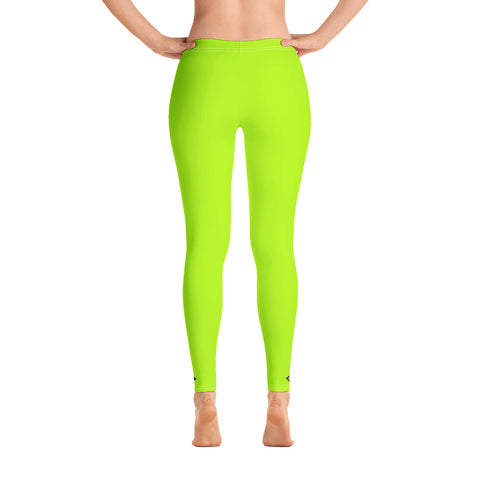 VonSavage Lime Full Length Leggings