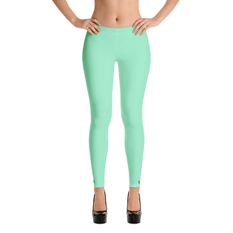 VonSavage Mint Full Length Leggings
