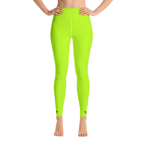 Yoga Leggings Lime Green