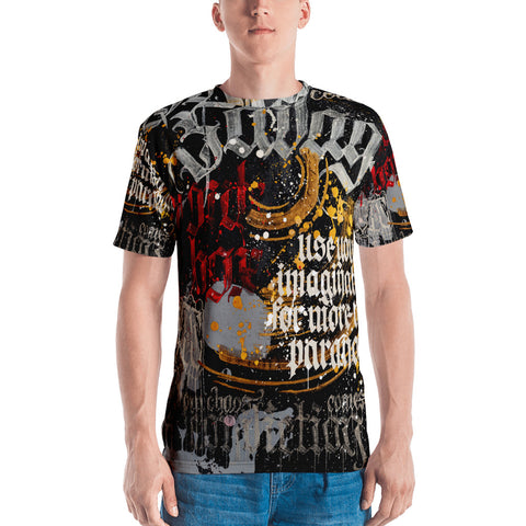 BlackLetterRitual Paranoia OG Men's Crew Neck T-shirt