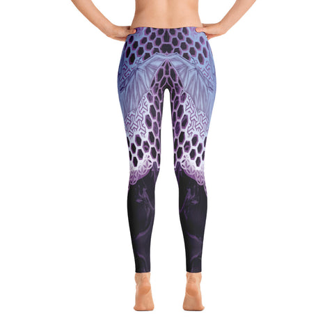 Adam O'Brien Violet Bat Leggings