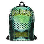 Adam O'Brien Green Bat Backpack
