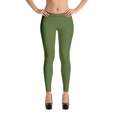 VonSavage Olive Drab Leggings