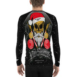 G2GBay SANTA SKULL Men's Rash Guard