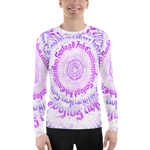 BlackWaterRitual Calligrafitti Men's Rash Guard