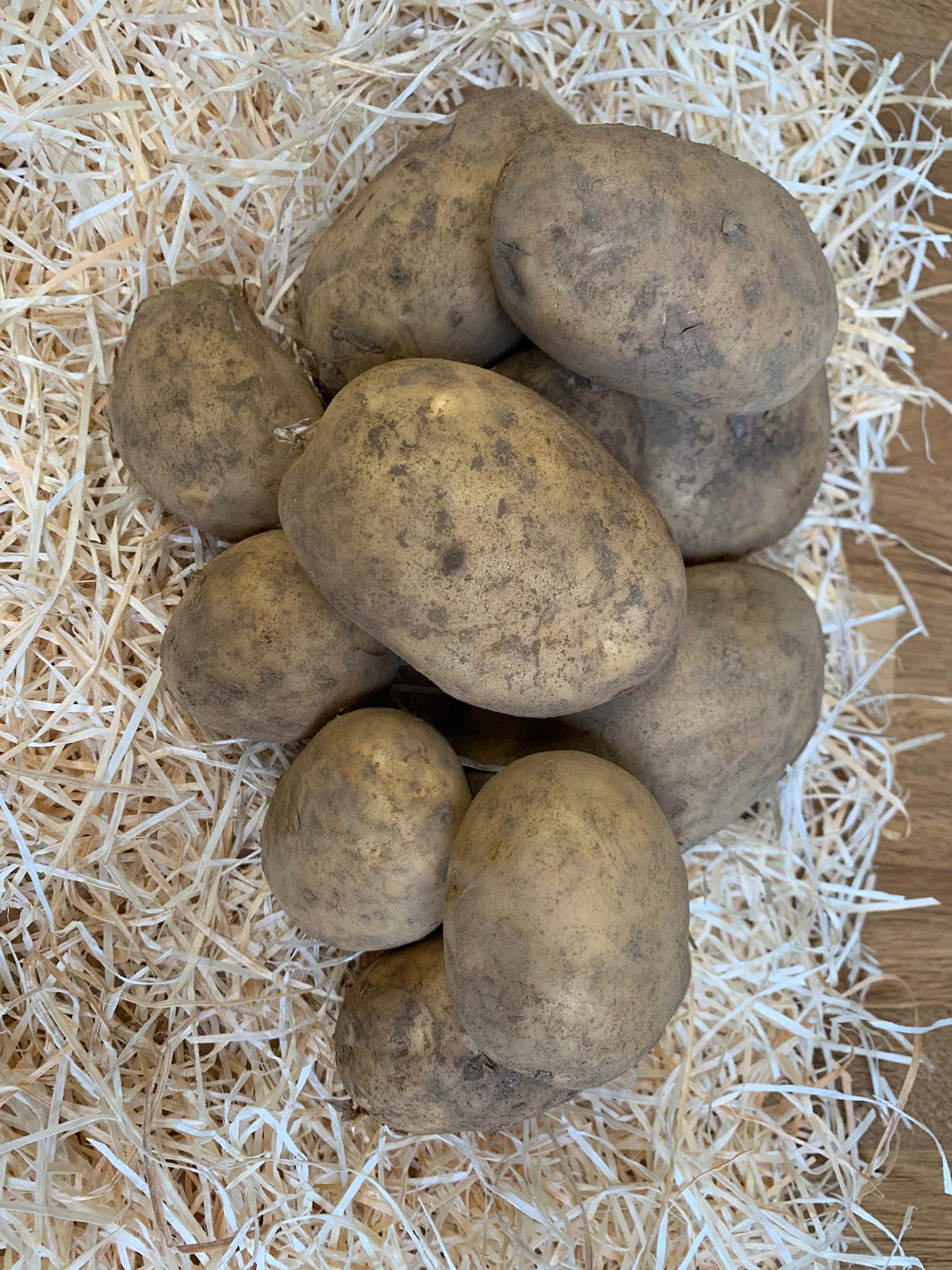 New Season Tatties - Markies - Per kg
