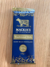 Load image into Gallery viewer, Mackie's of Scotland Traditional Dairy Milk Chocolate 120g