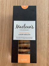 Load image into Gallery viewer, Maclean's Highland Bakery Sticky Toffee Luxury Biscuits