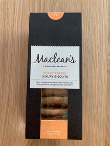 Maclean's Highland Bakery Sticky Toffee Luxury Biscuits