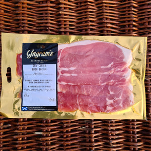 Watson's Veggies - Unsmoked Back Bacon (6 Rashers)