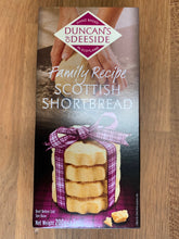 Load image into Gallery viewer, Duncan's Of Deeside Family Recipe Shortbread 200g