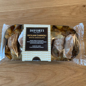 Diforti Sicilian Cannoli White Chocolate 150g